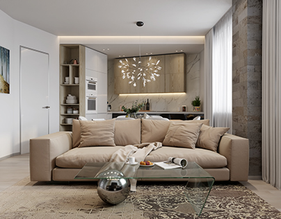 Visualization apartment in moscow