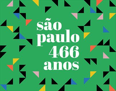 São Paulo 466 anos