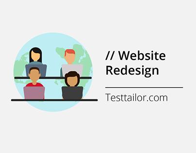 Website Redesign for TestTailor