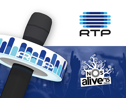 Microfone RTP# NOSALIVE | Illustration