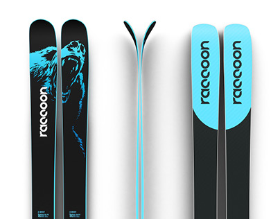 raccoon skis 2017-18 collection
