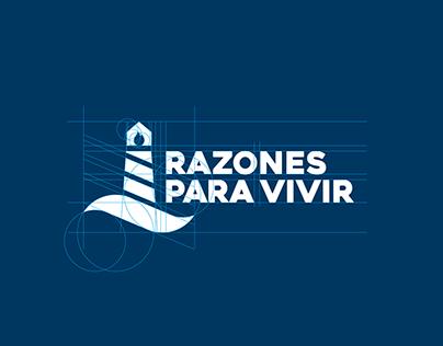 Logotype and branding - Razones para vivir
