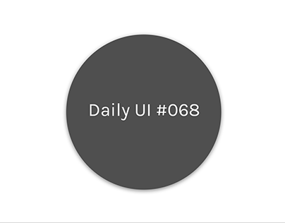 Daily UI 68