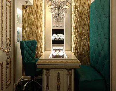 Дизайн ювелирной мастерской