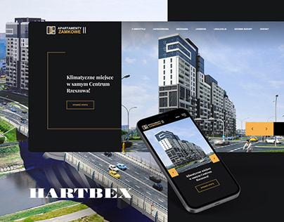 Apartamenty Zamkowe / Web, 3D & Animation