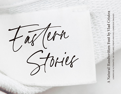 Eastern Stories Handwritten Font