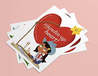 """Nina's World"" Valentine Cards"