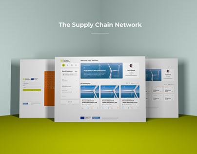 Renewable Energy Supply Chain Network Web Design