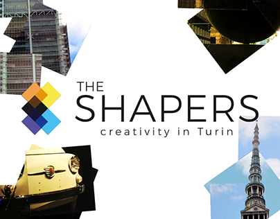 The Shapers - visual identity