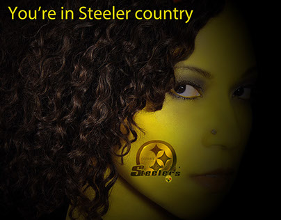 beautiful Steeler fan
