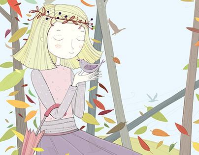Illustrations for Children's Magazine