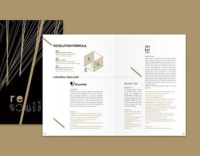 泰國設計師週-手冊編排設計