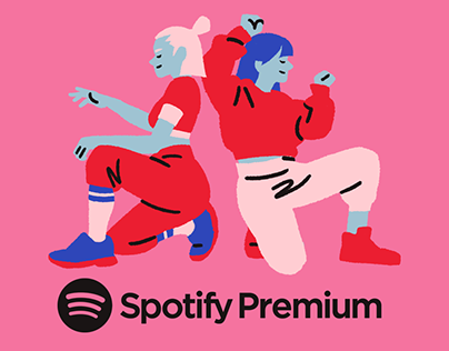 Spotify Premium Illustrations