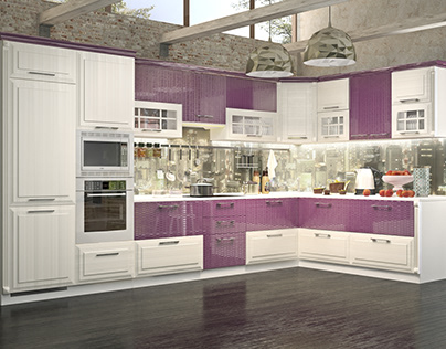 visualization of kitchen for the catalog