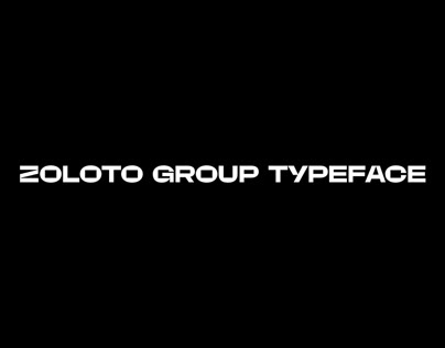 Zoloto Group typeface