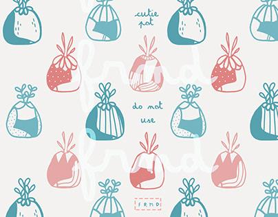 Cutie Pot Pattern
