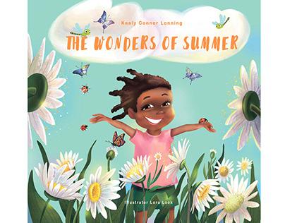 Children's book. The Wonders of Summer.