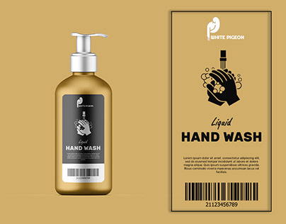 Label Design | Hand Wash Bottle