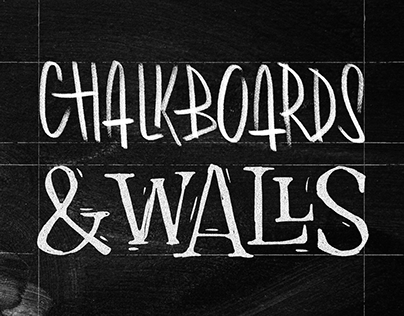Chalkboards & Walls