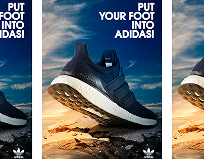 """""""Adidas"""" product poster"""