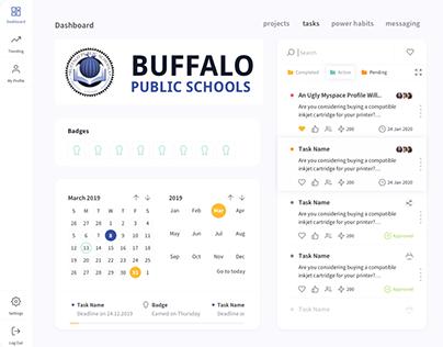 Bufallo Public Schools - Project Management platform