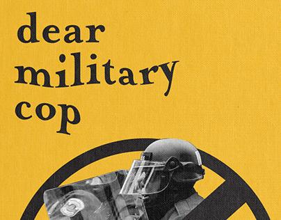 Dear Military Cop: A Classical Book
