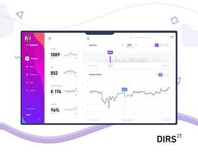 DIRS21 - Admin Dashboard