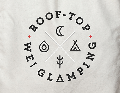WE! GLAMPING Branding Project