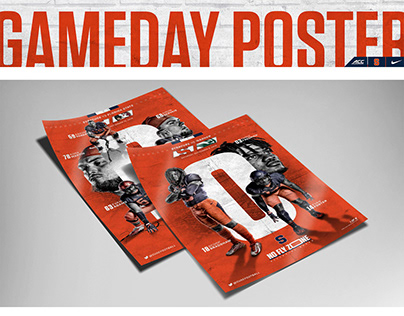 Syracuse Football Home Game Poster Series