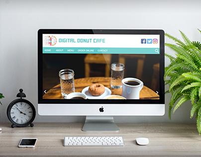 Digital Donut Cafe - Web Design