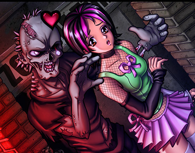 Zombie Love: Time Lapse