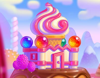Promo art for CakeStory