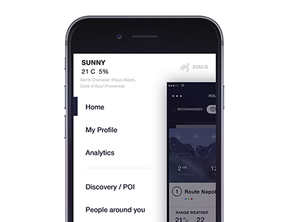 Simple App for Skiing