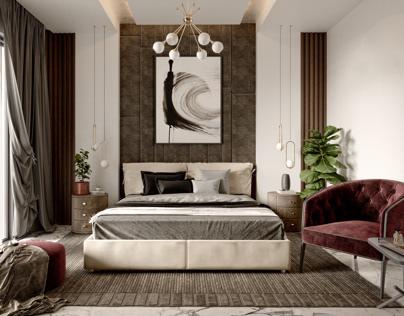 Bedroom design in muscat