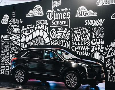 Cadillac Mural – Stroke Art Fair