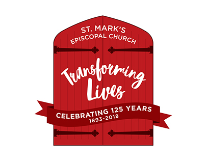 St. Mark's Episcopal Church 125th Anniversary Logo