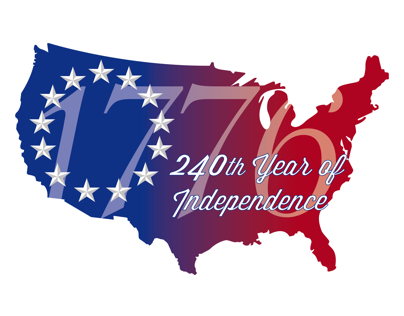 240th Independence Day Design