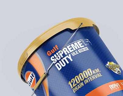 Gulf Supreme Duty - Pack design
