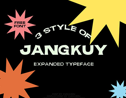 JANGKUY EXPANDED DISPLAY - Free Font