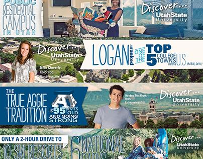 Utah State University Web Banners