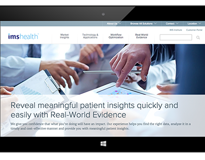 Healthcare Consulting Website