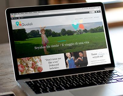 Qualalì. Blog branding