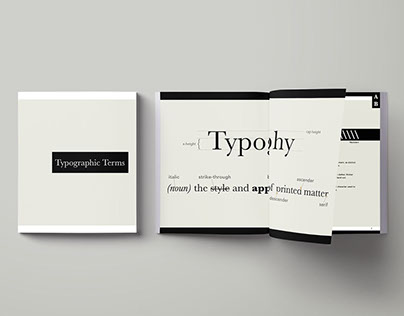 Typographic Terms Glossary
