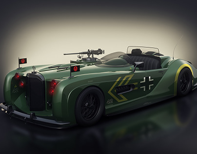 The Red Skull car concept