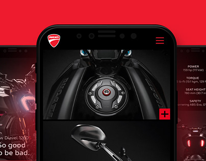 Landing Page 1260S | Concept in Progress | Ducati