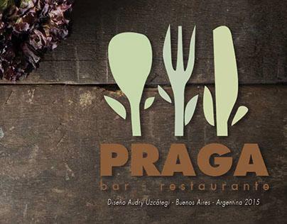 Identidad Corporativa Restaurante PRAGA