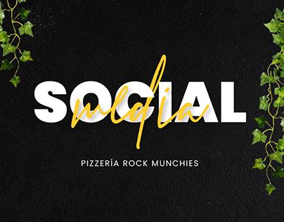 Pizzería Rock Munchies - Social Media