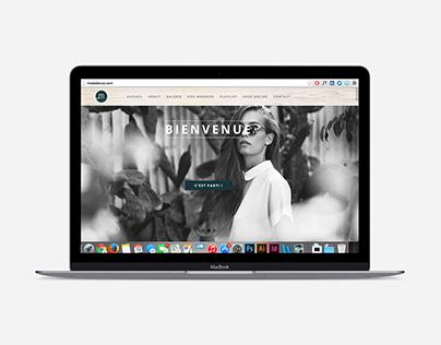 Refonte du site web Mode de Vue