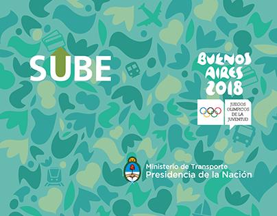 SUBE y Los JJOO de la Juventud Buenos Aires 2018.