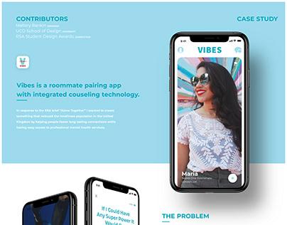Vibes: Roommate Pairing App